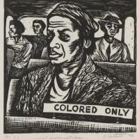 "Elizabeth Catlett  ""I have special reservations…"", 1946."