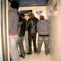 En el baño de Machos, 2010 Fotografía digital Dimensiones variables