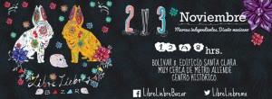 Liebre Libre Bazar 2 y 3 de Noviembre de 2013