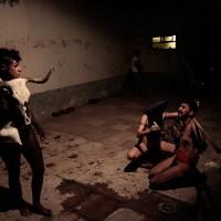 "Registro de Performance ""Akelarre"" Colab. Diana J. Torres , Idoia Millán y Lechedevirgen Trimegisto."