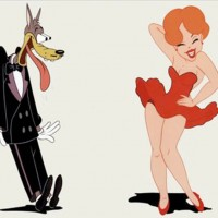 Tex Avery´s wolf and girl