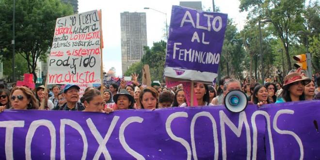 Reseña de la pasada marcha en defensa de los derechos de la mujer en D.F.
