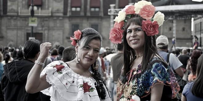 Lentejuelas y consignas: Un vistazo a la 36a Marcha del Orgullo LGBTTTI