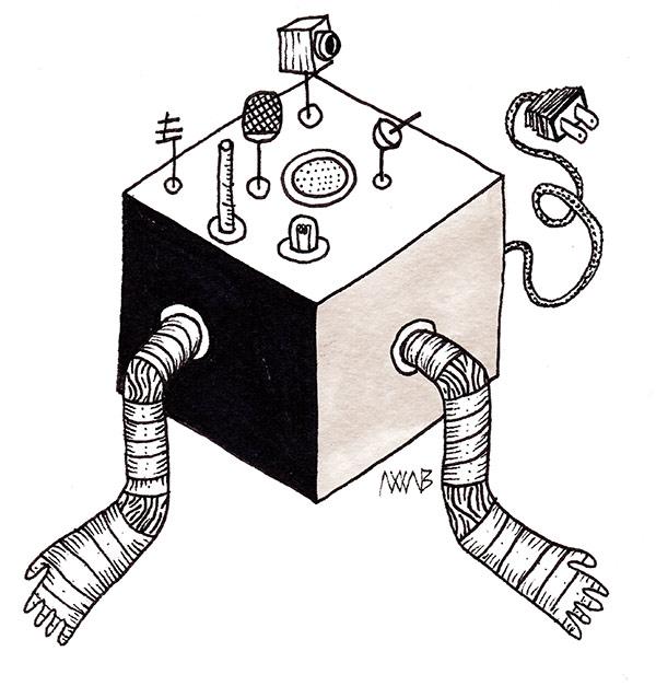 ilustración por Alex Xavier Aceves Bernal