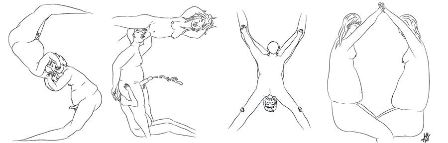 """Ilustración: """"Sexo"""" por Monchi Delaseta"""