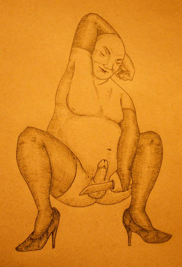 dibujo por Carlos Pena (Charly Chamuco)