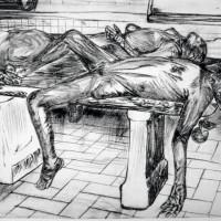 """""""En la plancha"""" por Erika Bulle, 1995"""