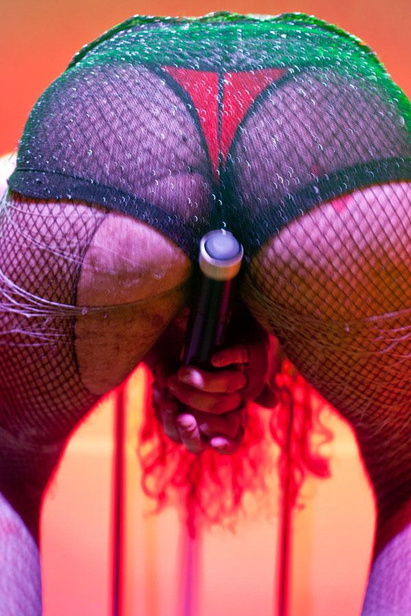 ¡La chica de Ipanema estaba abierta! Solange to aberta como un espacio de transe y mounstrosidad placentera