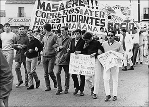 cortesía de: http://sobrehistoria.com/tlatelolco-matanza-estudiantil-en-mexico-68/