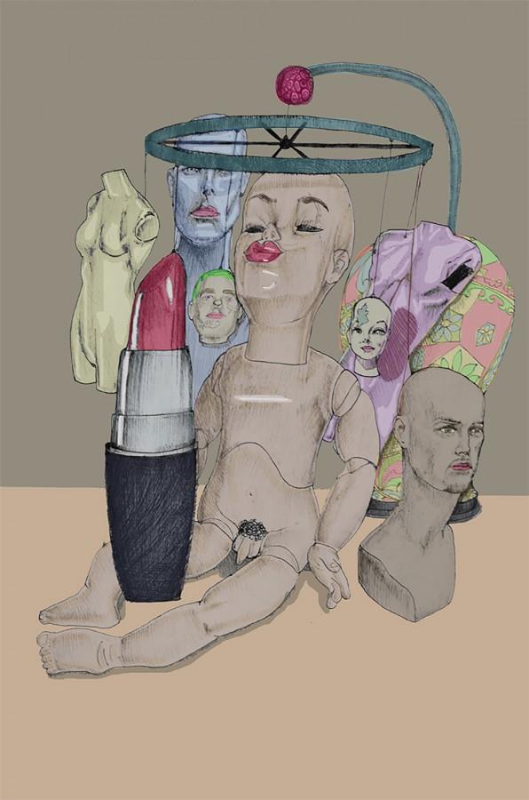 """""""Pink tube"""" por Miguel Angel Padilla Salazar"""