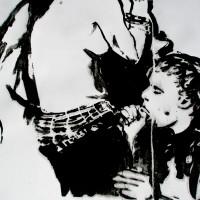 """Ilustración """"Amante"""" por Itziar  Markiegi"""