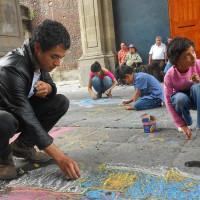 """proyecto callejero """"Debajo de la alfombra"""""""