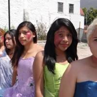 Quinceañeras contra el feminicidio