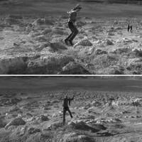 Acción En la Luna. Autores: Chatower/Charlie/Wachi/Liborio/Mirna Roldán. Fotografía: Mirna Roldán. 2012