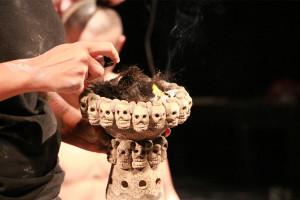 Crematorio-sahumerio de cabello