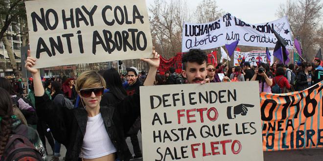 Tercera Marcha por el aborto libre, seguro y gratuito , Chile