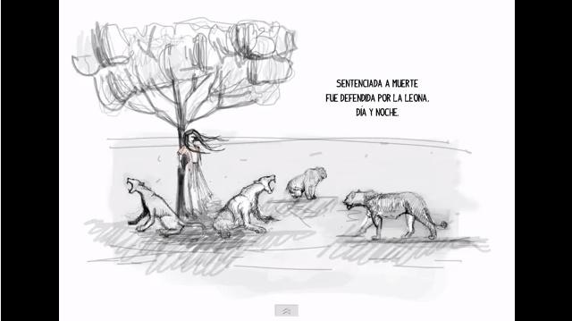 Maldonada*, la leona