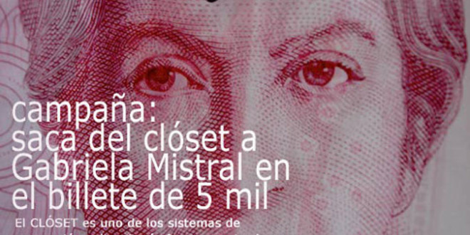 Saca del clóset a Gabriela Mistral