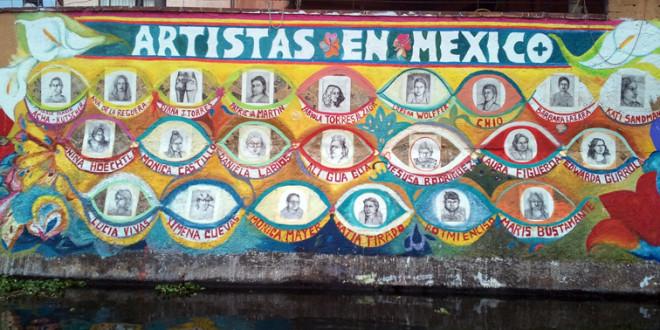 Un tributo a las mujeres artistas en México por Katja Von Helldorff