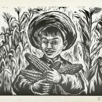 """Fanny Ravel """"El Buen Maíz"""", 1954."""