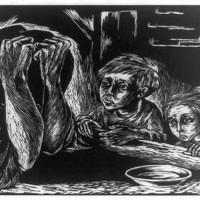 "Fanny Ravel ""Miseria"", 1950."