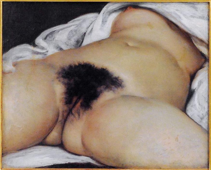 """L´origine du monde"" Gustave Coubert, 1866"