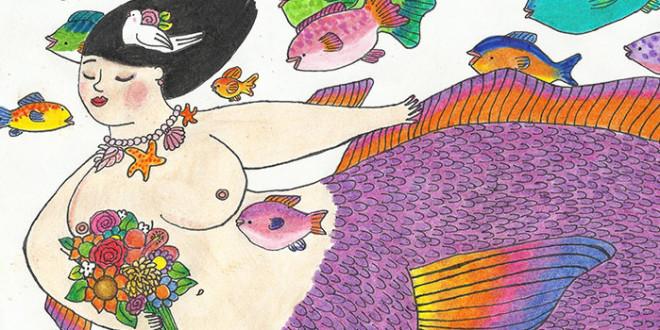 Desbordes de vida y color de Oscar Jauregui