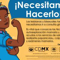 Necesitamos hacerlo!- Salud sexual para mujeres lesbianas y bisexuales