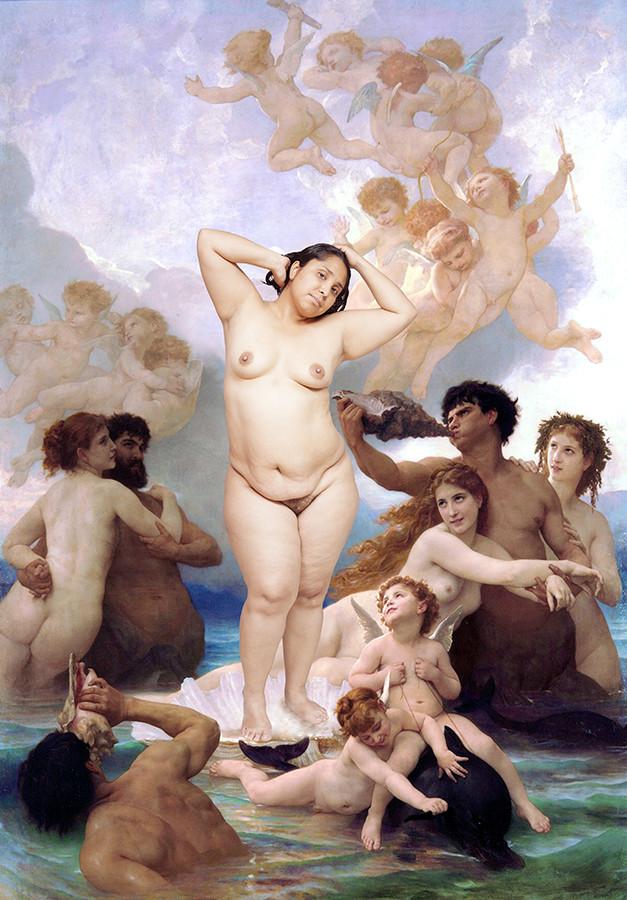 Sobre el nacimiento de Venus II. De la serie La Atlántida (2015 - en proceso), Carol Espíndola
