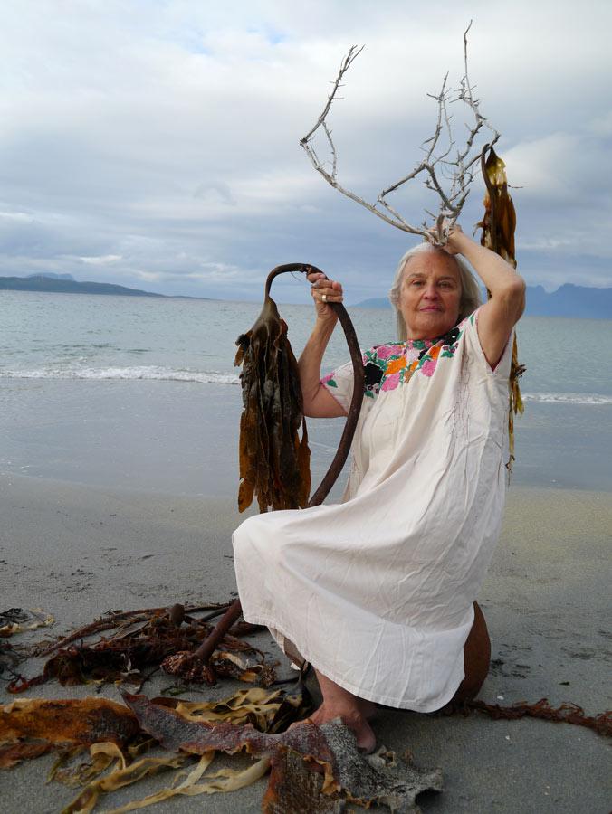 Ocean-Woman.  Inari Virmakoski. Foto: Anita Hillestadt