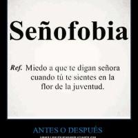 señofobia