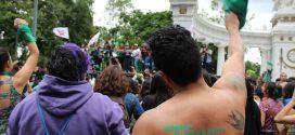 El pañuelazo verde también es trans