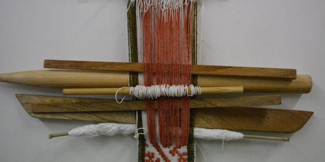 Telar de cintura en la comunidad de Milpa Alta