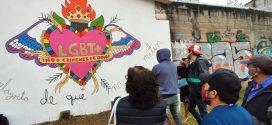 Colectiva Chuvajetik: Murales comunitarios por las disidencias